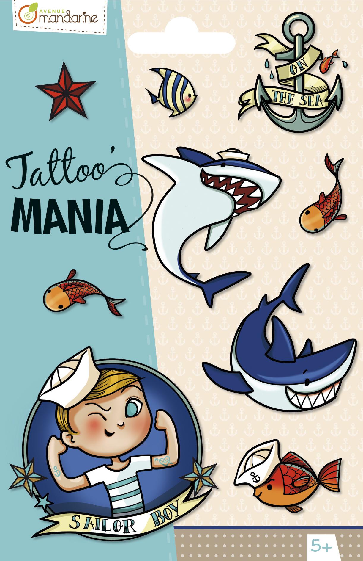 Tatuaże Tattoo Mania Podwodny świat