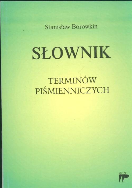Słownik terminów piśmienniczych