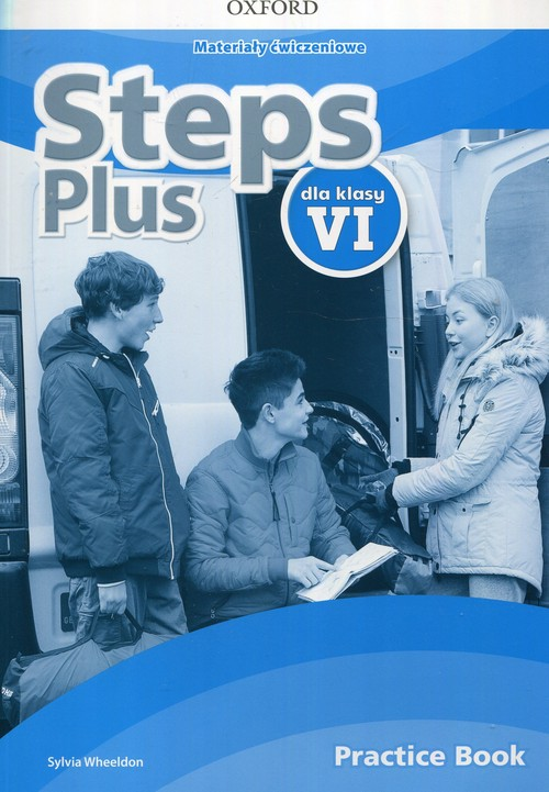 Steps Plus dla klasy VI. Materiały ćwiczeniowe z kodem dostępu do Online Practice