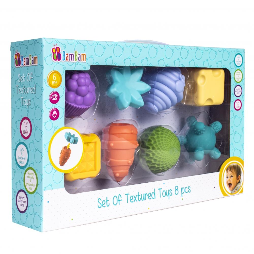 Zestaw zabawek sensorycznych 8 szt.