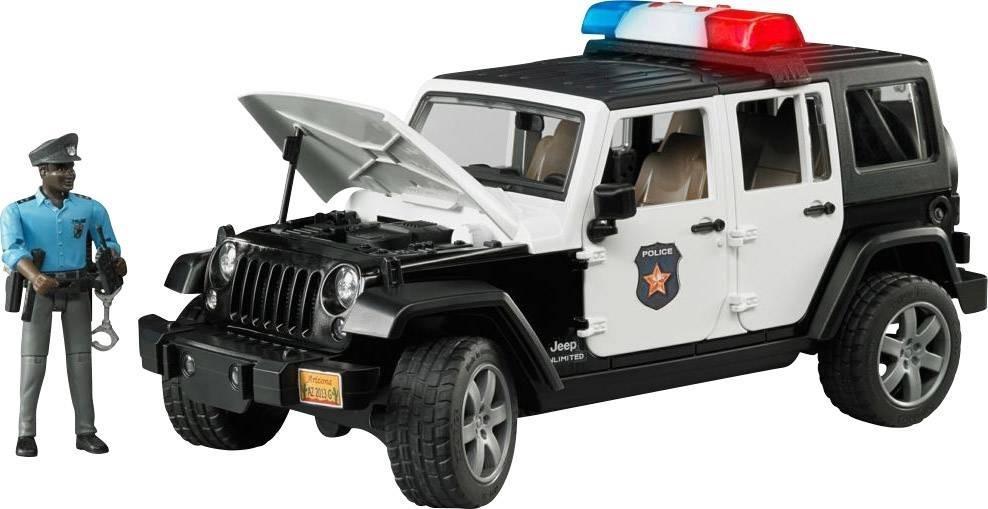 Jeep Wrangler Unlimited Rubicon + policjant