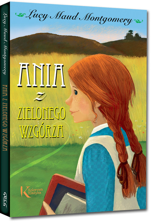 Ania z Zielonego Wzgórza kolorowa klasyka