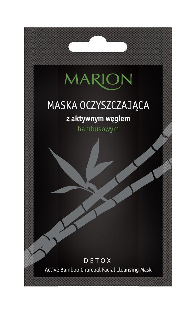 Detox Mask maska oczyszczająca z aktywnym węglem bambusowym
