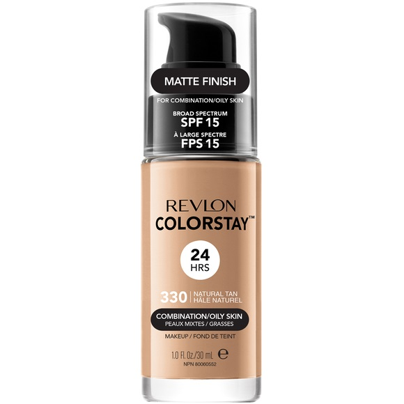 ColorStay With Pump makeup combination/oily skin 330 Natural Tan