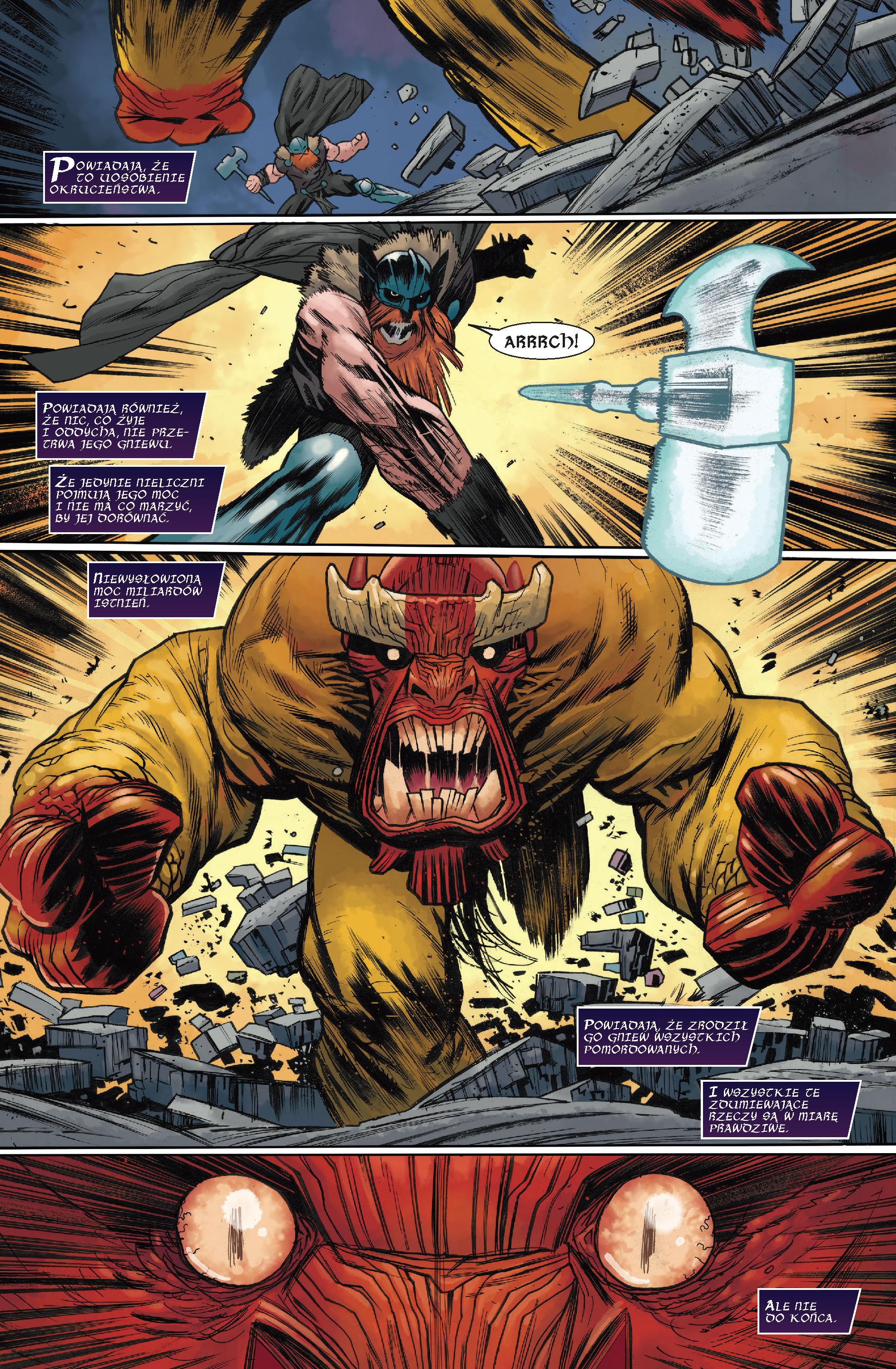 Potężna Thor. Śmierć Potężnej Thor. Tom 5