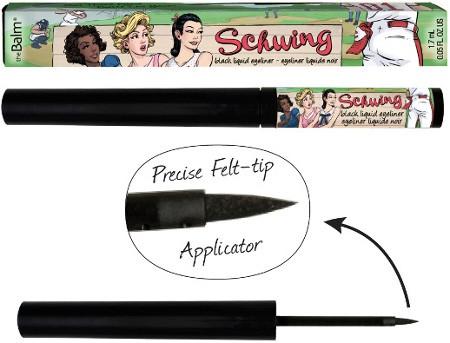 Schwing Black Liquid Eyeliner liner w płynie