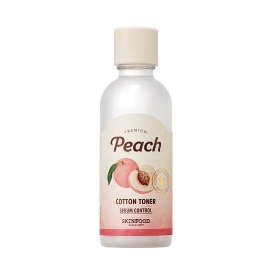 Premium Peach Cotton Toner tonik brzoskwiniowy do twarzy