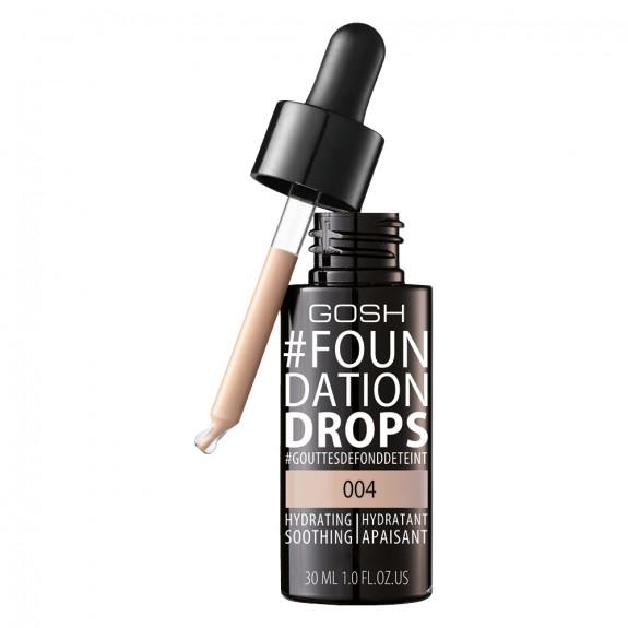 Foundation Drops nawilżająco-wygładzający podkład do twarzy 004 Natural