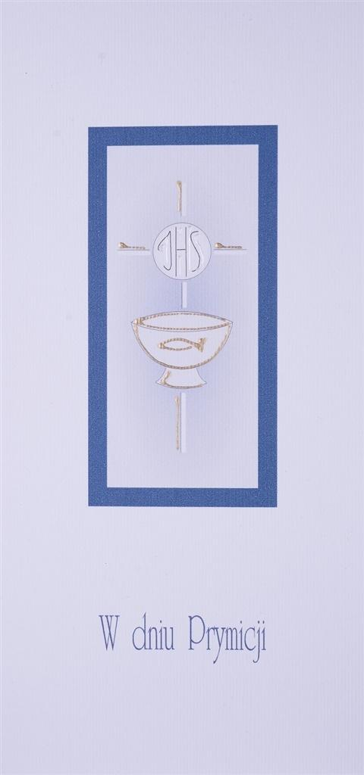 Karnet Prymicja DL PR01 - W dniu Prymicji
