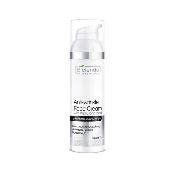 Face Program Anti-Wrinkle Face Cream SPF15 krem przeciwzmarszczkowy do twarzy z kwasem hialuronowym