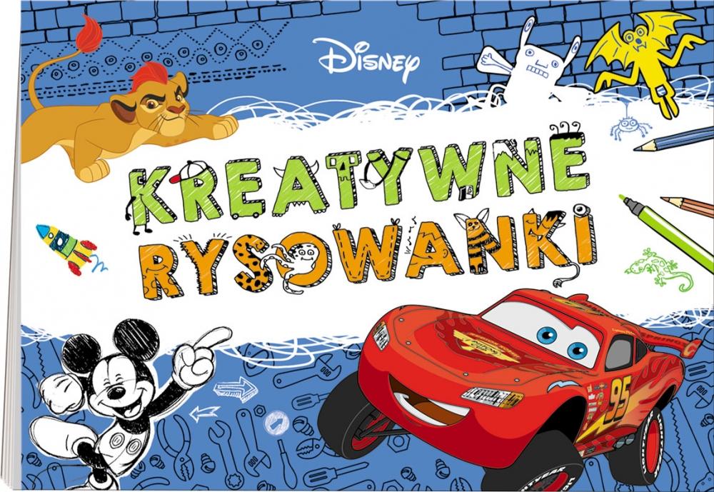 Disney Filmy. Kreatywne rysowanki