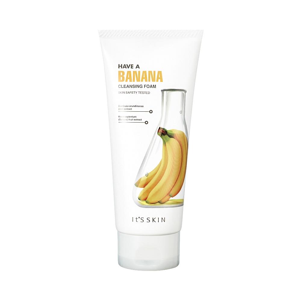 Have a Banana Cleansing Foam pianka do mycia twarzy z wyciągiem z banana