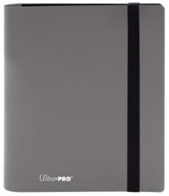 Ultra Pro: 4-Pocket Pro-Binder Eclipse - Smokey Grey