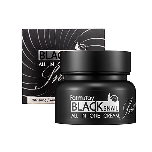 Black Snail All in One Cream krem do twarzy all-in ze śluzem ślimaka
