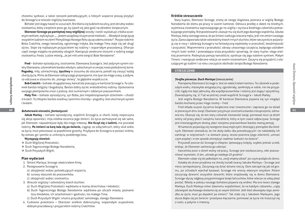 Opracowania lektur i wierszy. Szkoła podstawowa. Klasy 7-8. Zgodne z nową podstawą programową (od 2017/2018)
