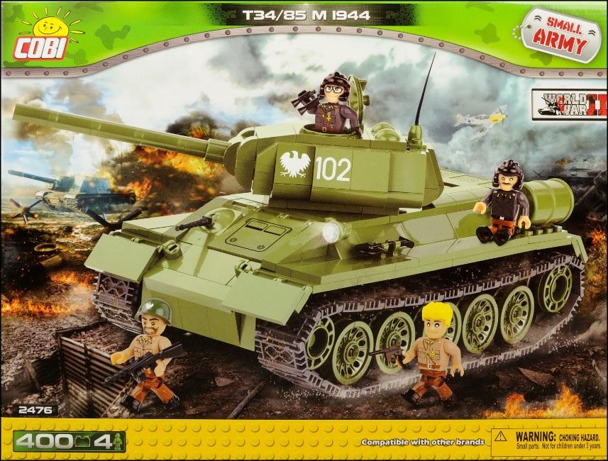 Small Army. T-34/85. Czołg sowiecki