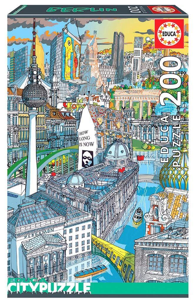 Puzzle 200 el. Berlin