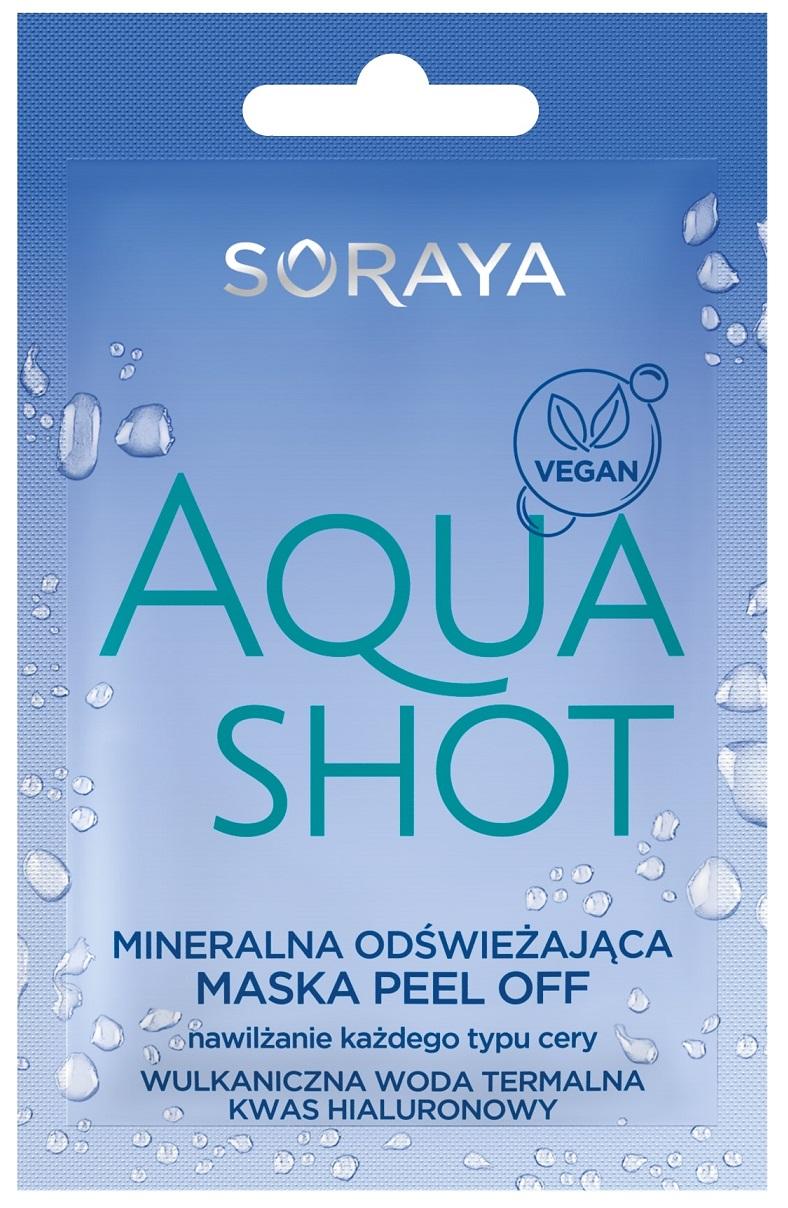 Aqua Shot mineralna odświeżająca maska peel-off