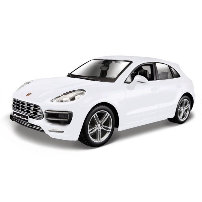 Porsche Macan White 1:24 BBURAGO