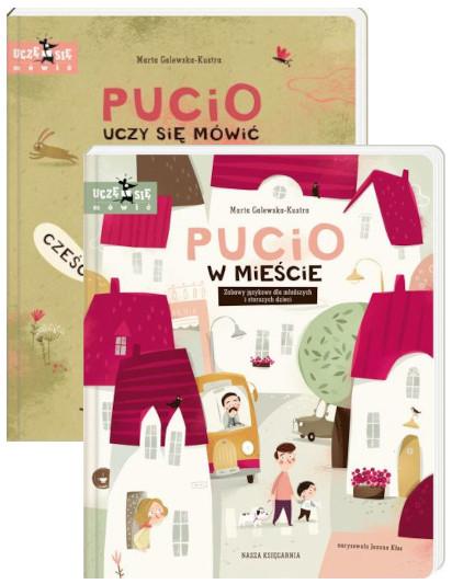 Pakiet: Pucio uczy się mówić, Pucio w mieście