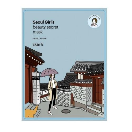 Seoul Girl's Mask Moisturizing Care nawilżająca maska w płacie