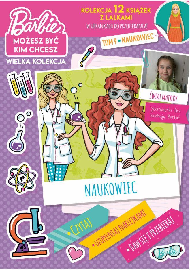 Naukowiec. Barbie, możesz być kim chcesz. Tom 9