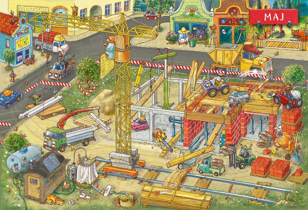Rok na placu budowy