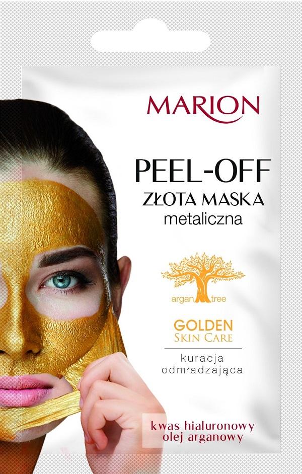 Golden Skin Care Peel Off Mask złota maska metaliczna