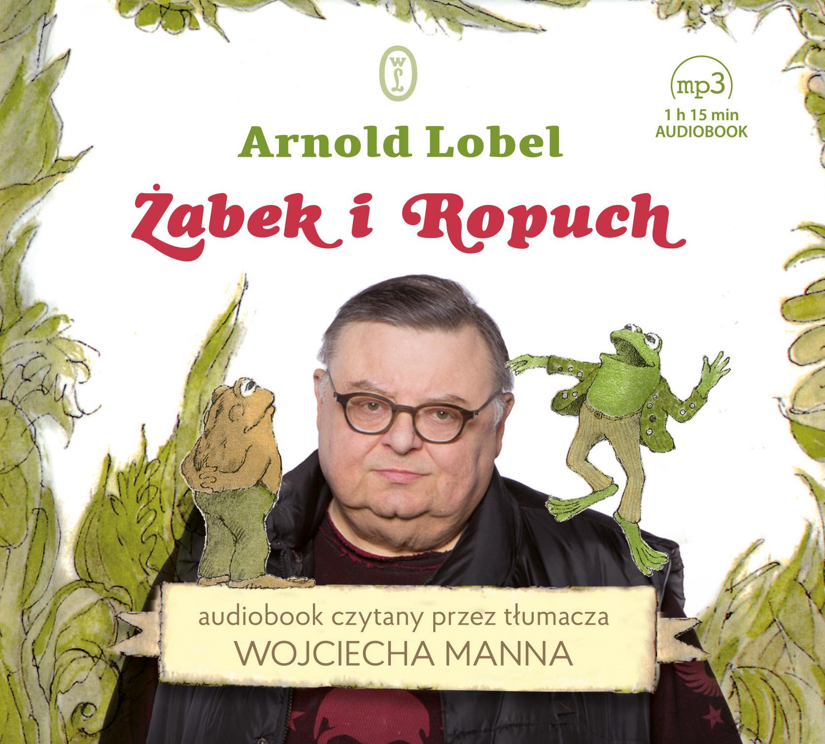 Żabek i Ropuch (audiobook)