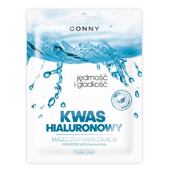 Hyaluronic Acid Essence Mask jędrność i gładkość nawilżająca maseczka w płachcie Kwas Hialuronowy