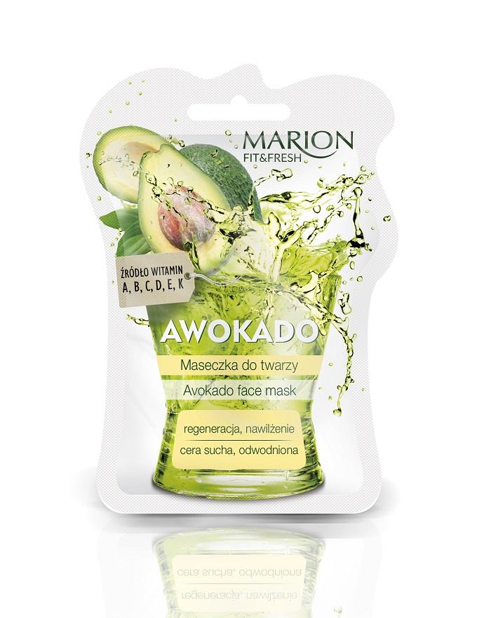 Fit&Fresh Face Mask maseczka do twarzy regeneracja i nawilżenie Awokado