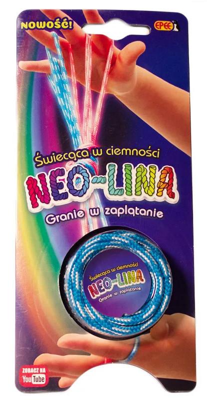 Neolina - świecąca w ciemności niebieska 04056