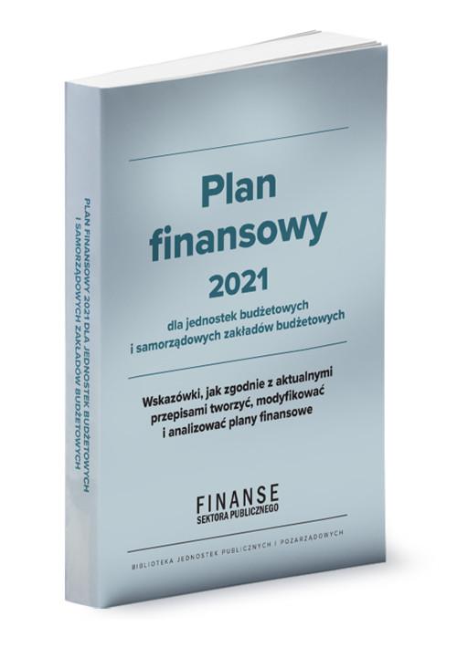 Plan finansowy 2021 dla jednostek budżetowych