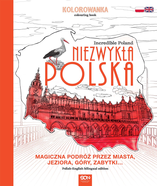 Niezwykła Polska. Kolorowanka