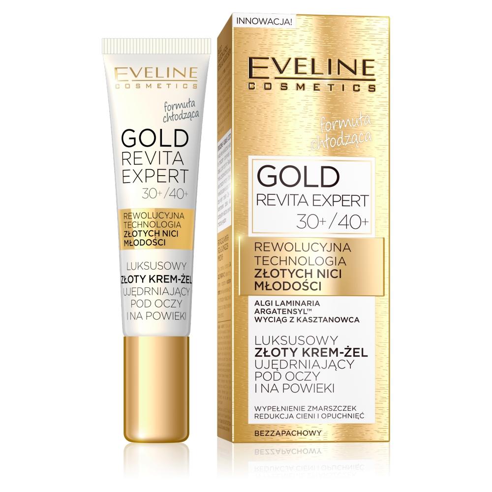 Luksusowy krem-żel pod oczy i na powieki Gold Revita Expert 30+/40+