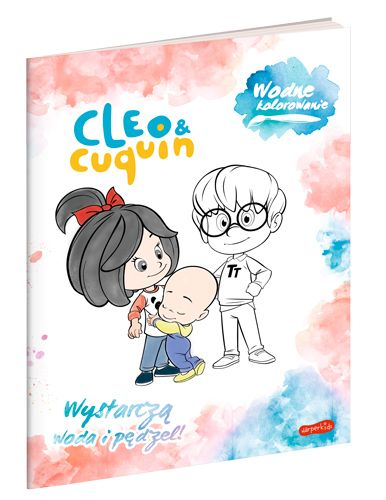 Cleo i Cuquin. Wodne kolorowanie