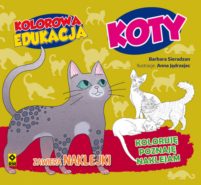 Koty kolorowa edukacja