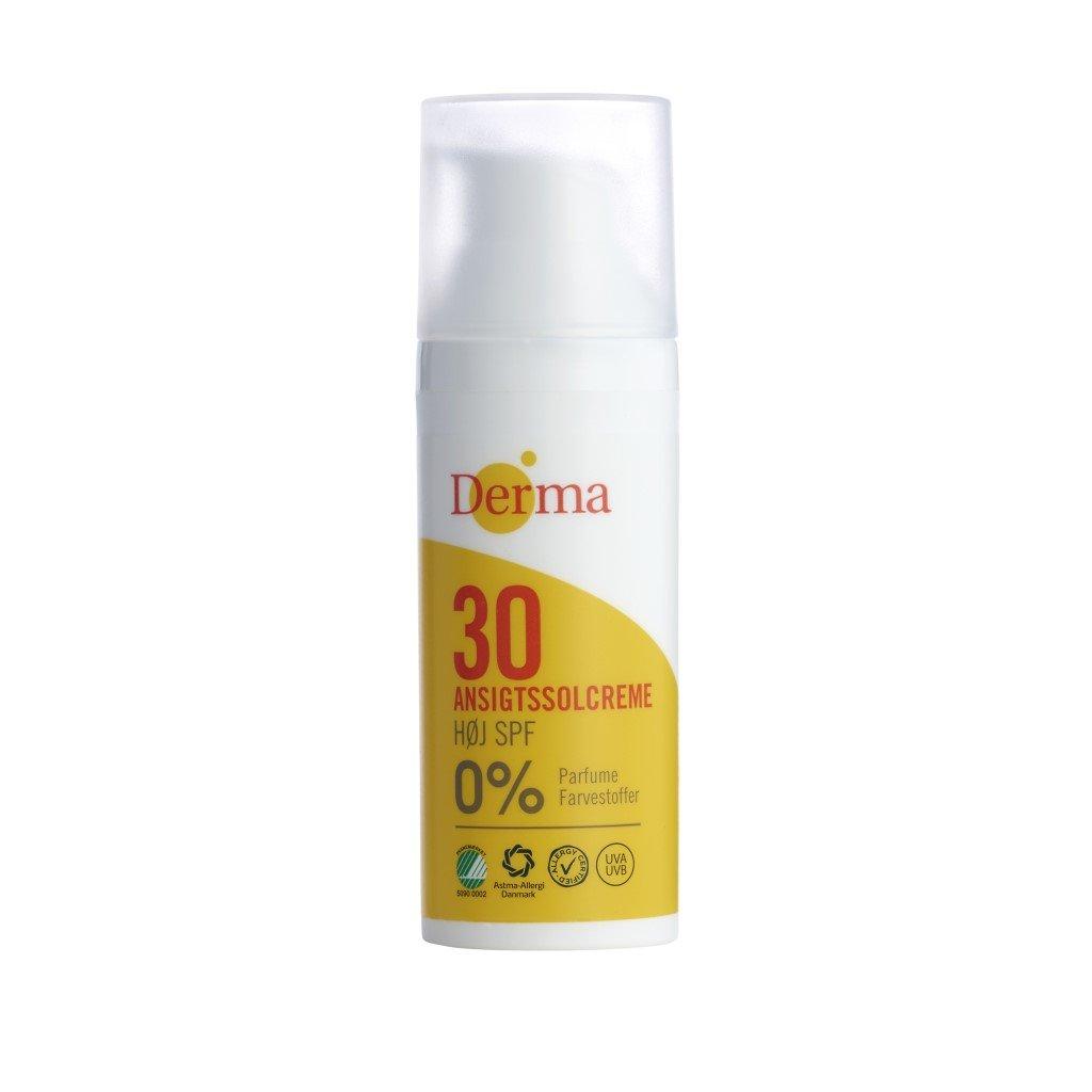 Sun Ansigtssolcreme SPF30 krem przeciwsłoneczny do twarzy