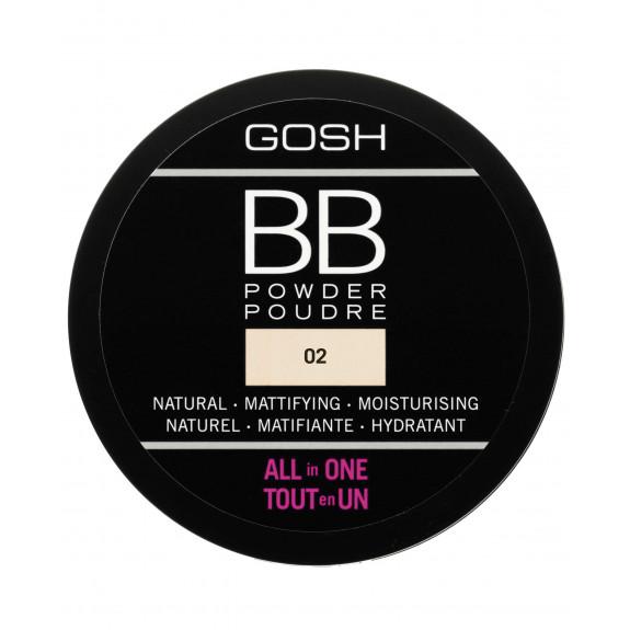BB Powder All In One prasowany puder do twarzy 02 Sand