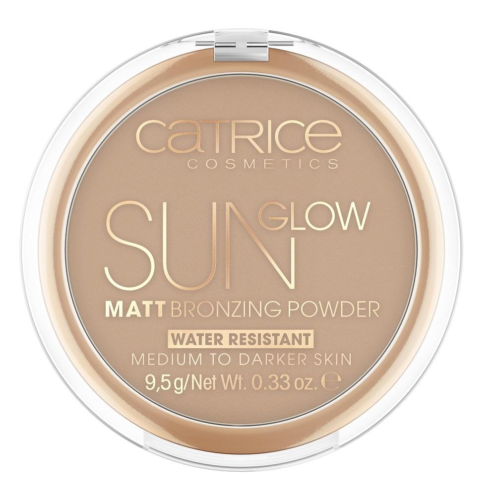 Puder brązujący 035 Universal Bronze Sun Glow Matt Bronzing Powder Water Resistant Medium Skin