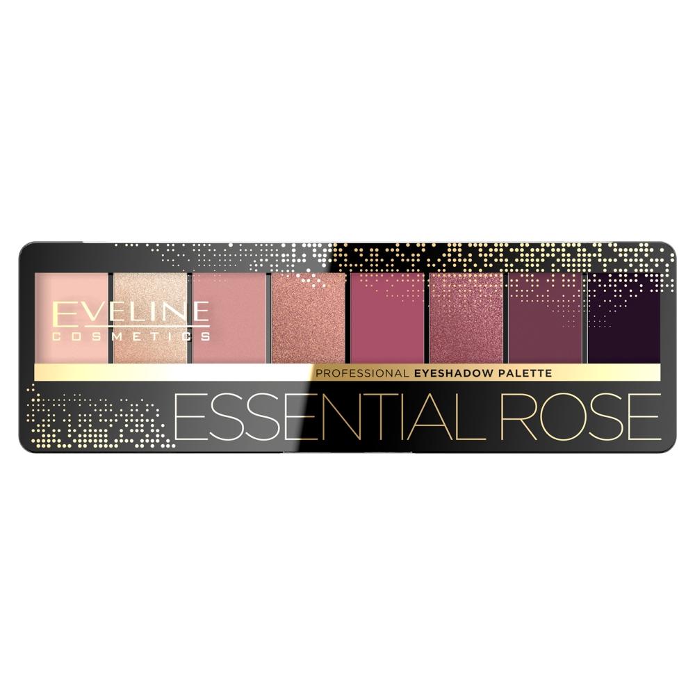 Paleta cieni do powiek Essential Rose 9