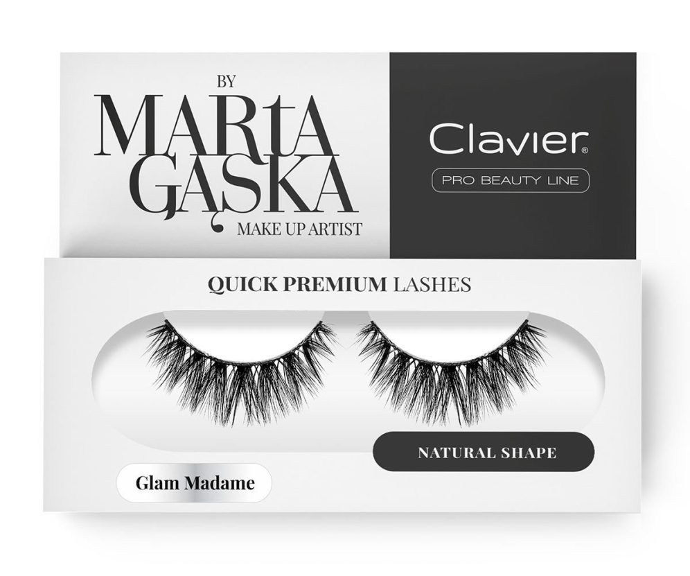 Quick Premium Lashes rzęsy na pasku Glam Madame 829