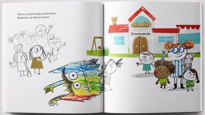 Kolorowy potwór idzie do przedszkola