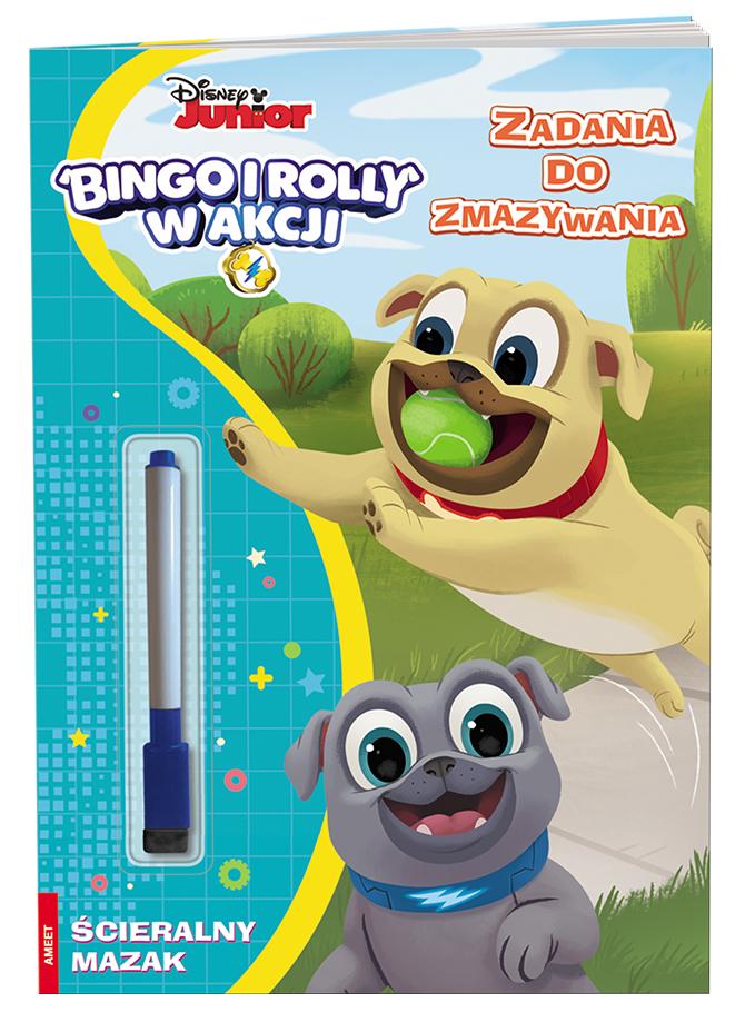 Bingo i Rolly w akcji. Zadania do zmazywania
