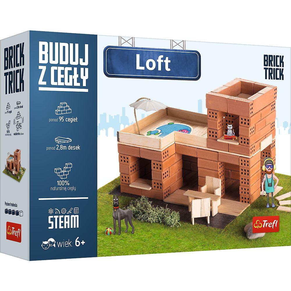 Brick Trick. Buduj z cegły. Loft M