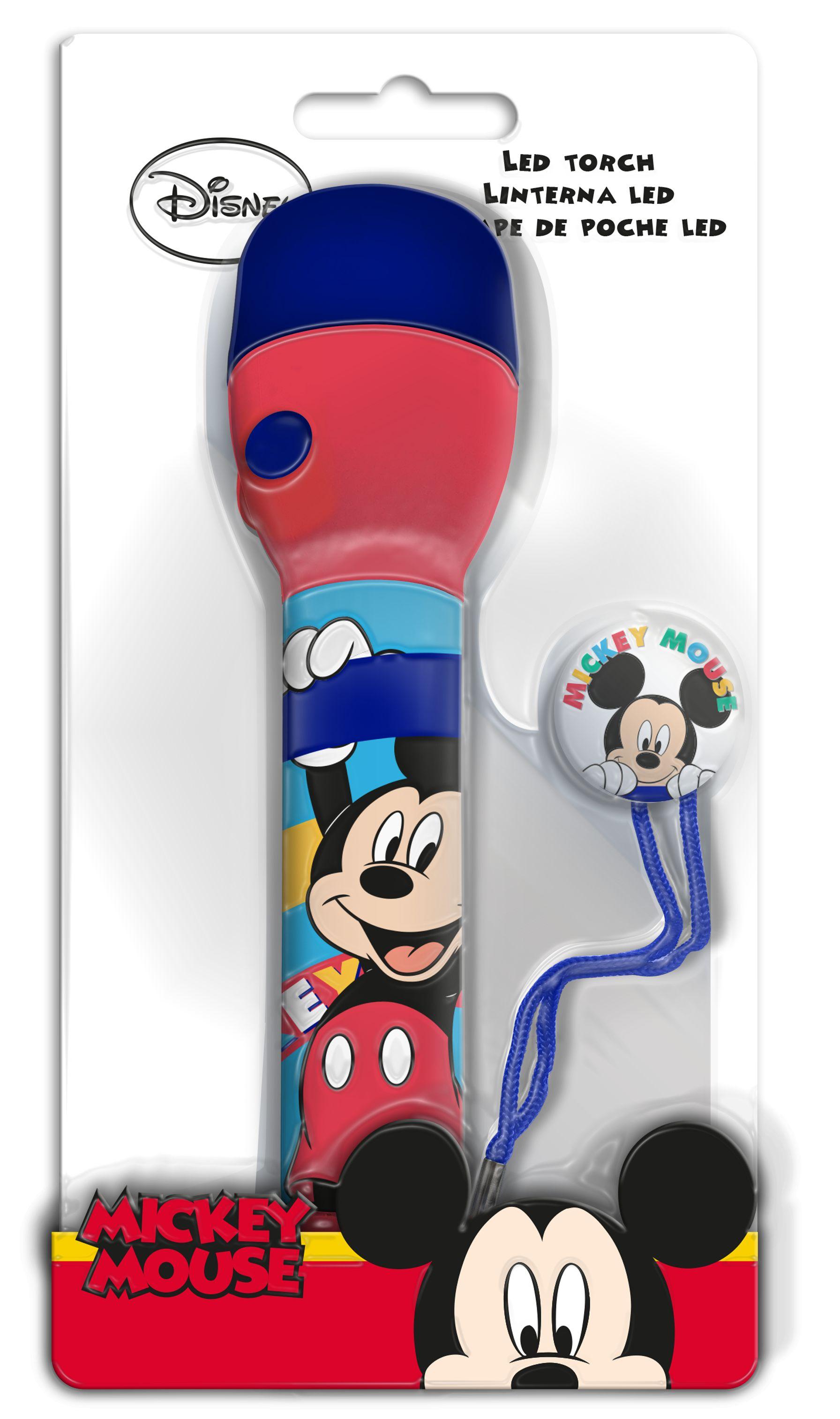 Duża Latarka LED, Myszka Mickey