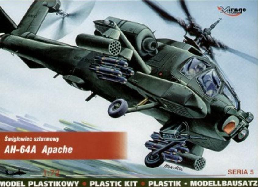 Śmigłowiec szturmowy AH-64A