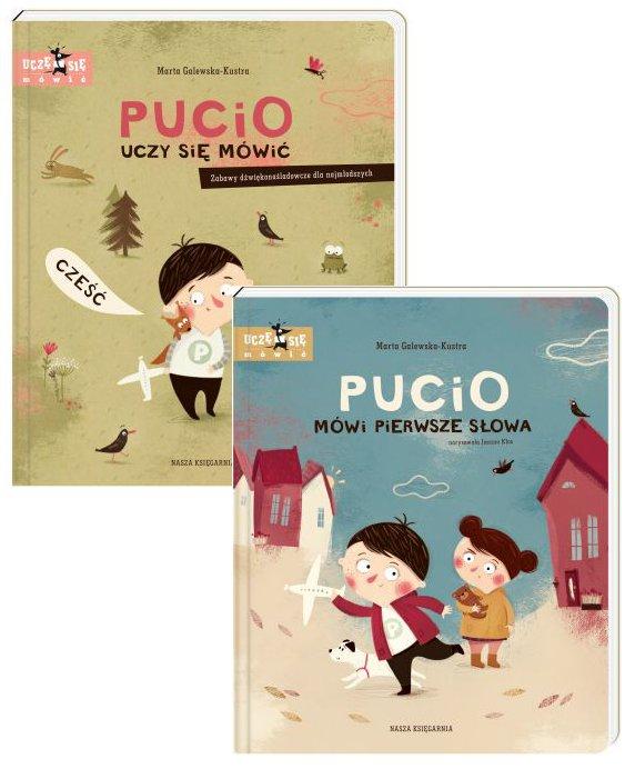 Pakiet Pucio: Pucio uczy się mówić, Pucio mówi pierwsze słowa