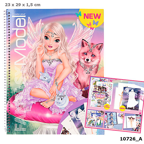 Zestaw kreatywny fantasy model 10726A