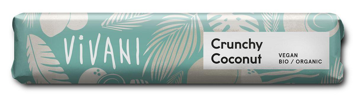Baton kokosowy crunchy